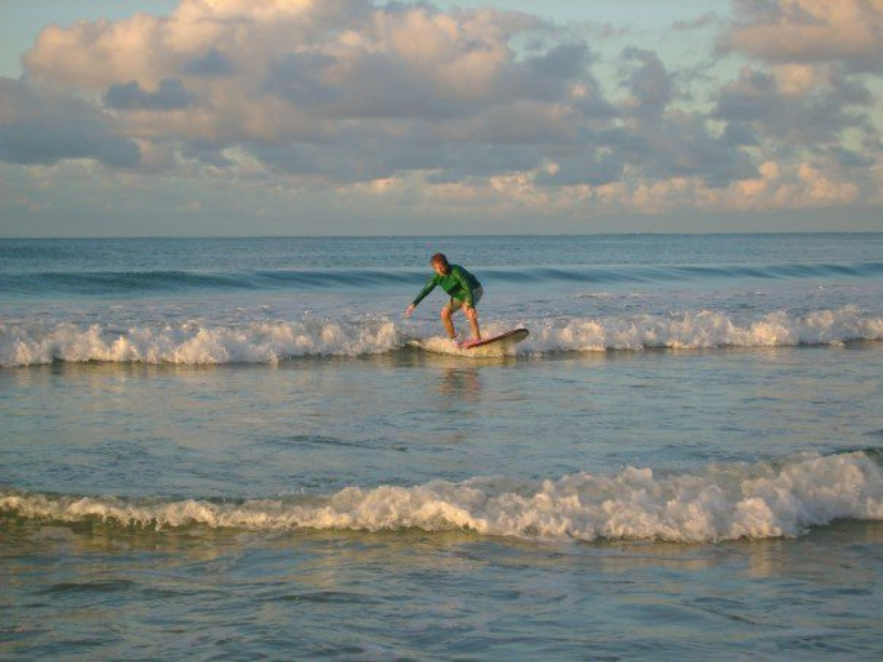 Surfing In Byron Bay Australia