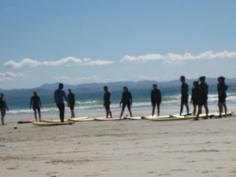 Surf Lesson In Byron Bay Australia