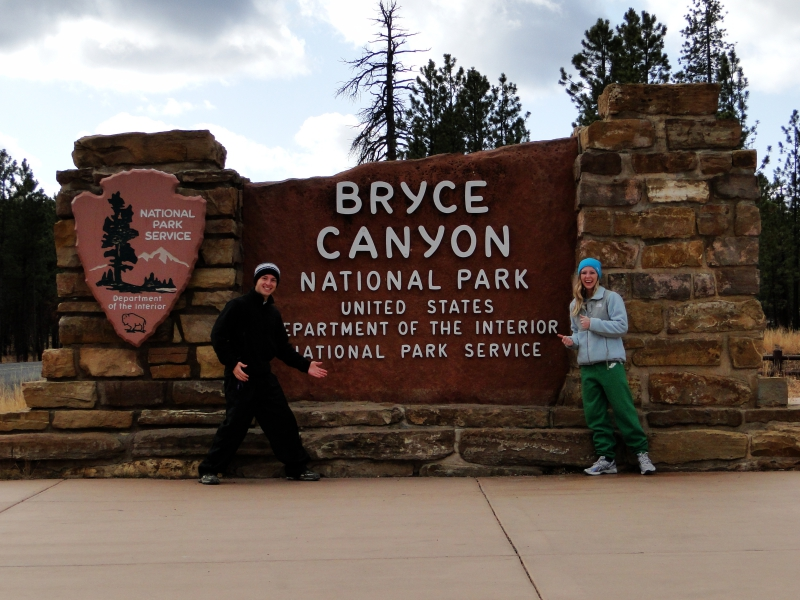 Bryce Canyon Entrance in Utah
