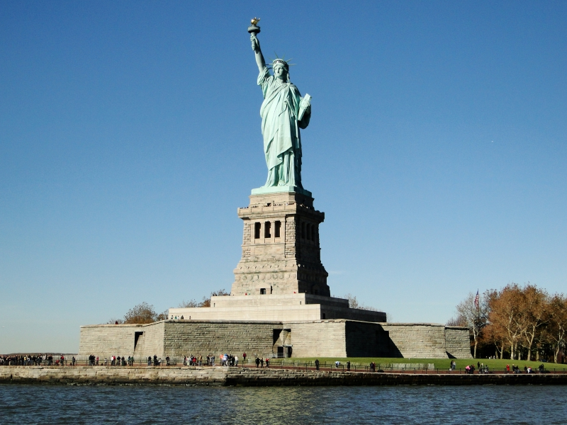Statue of Liberty from Boat