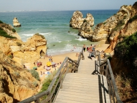 Beach in Lagos Portugal