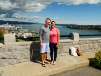 Overlooking Quebec City Canada