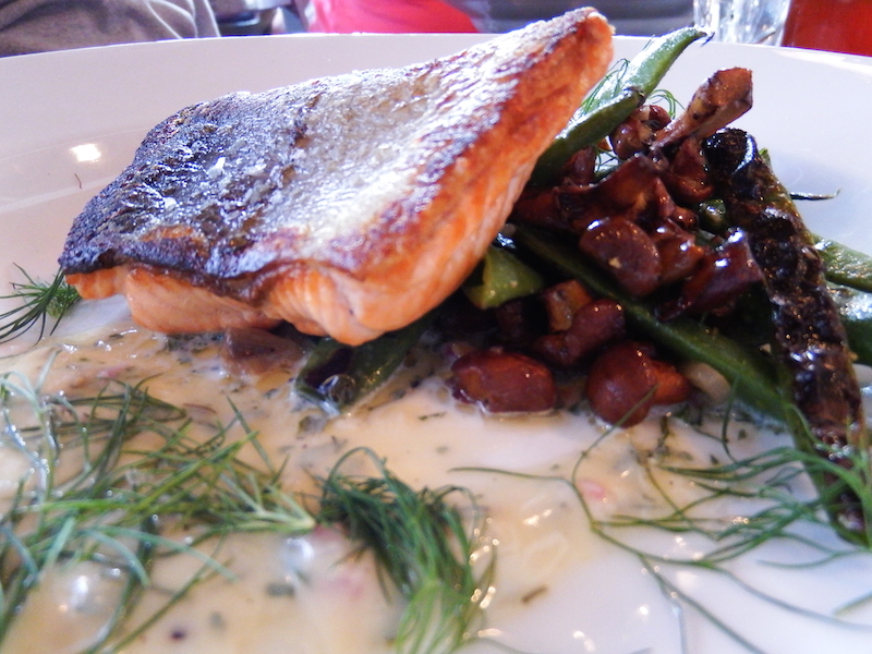 Salmon at Sitka and Spuce