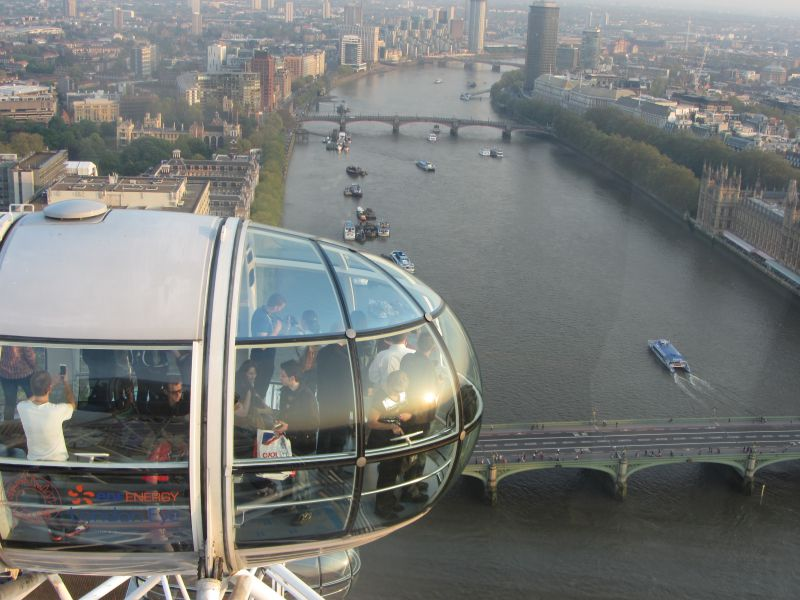 Riding the London Eye