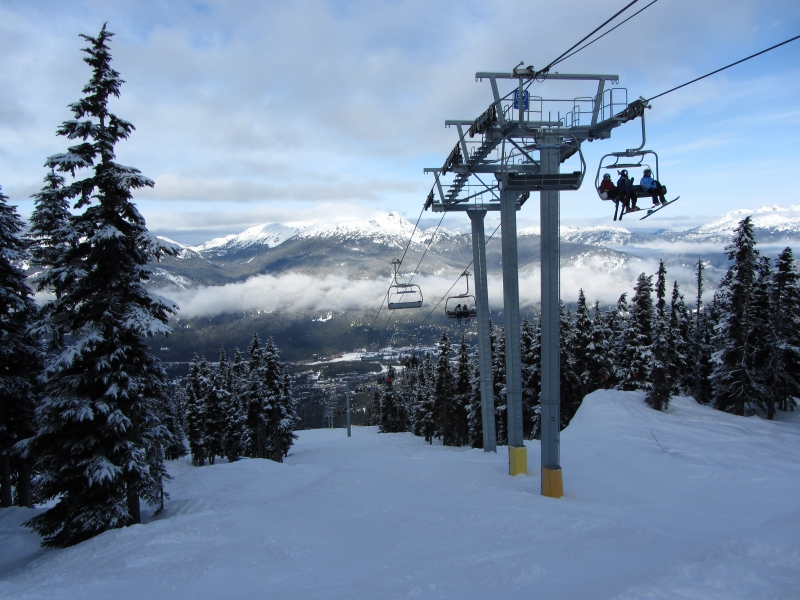 Chairlift at Whistler