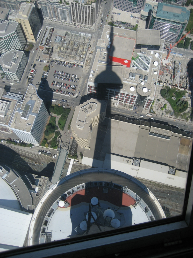 The View From the CN Tower Toronto