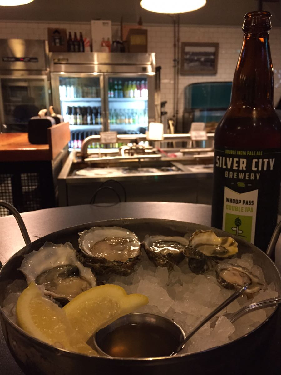 Fresh oysters at Taylor Shellfish in Capitol Hill, Seattle