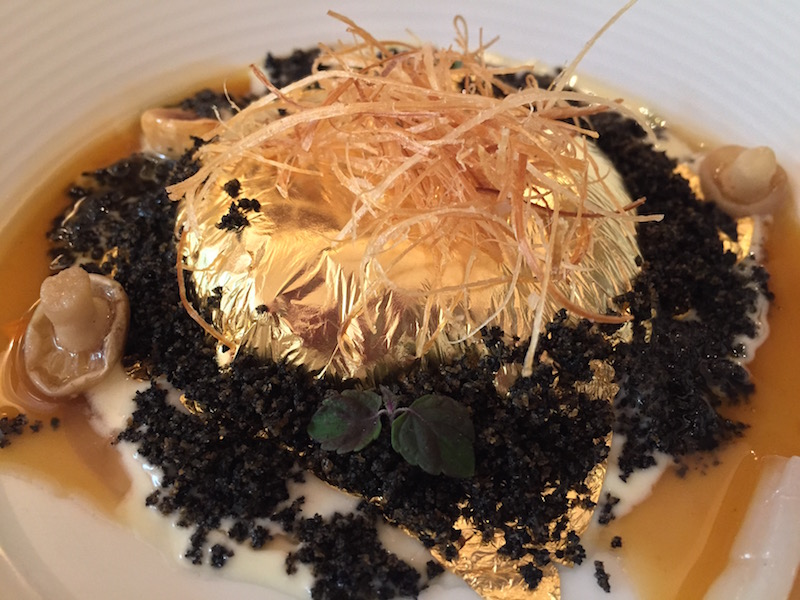 The Goose that Laid the Golden Egg at Belcanto, Portugal's best restaurant in Lisbon