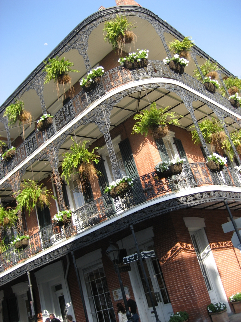 French Quarter House in New Orleans