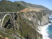 Brixby Canyon Bridge California
